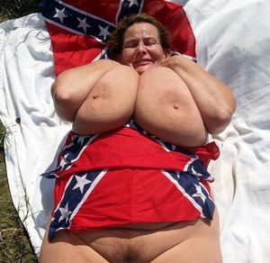 American mature BBW with enormous natural juggs
