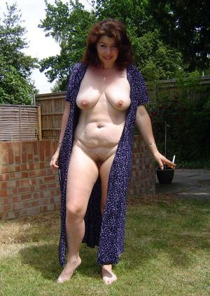 mature naked tits