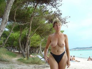 older woman naked