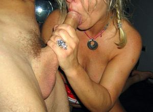 milf cum party
