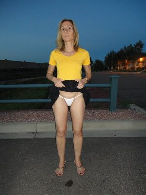 milf in crotchless panties