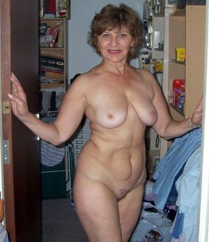 beautiful mature breasts