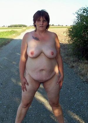 bbw mature nudist