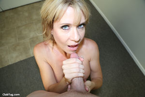 stepmom gives blowjob