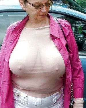 grannie boobs